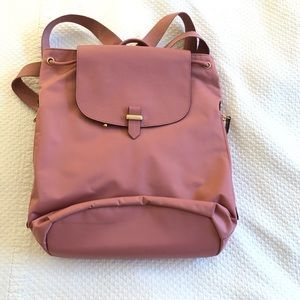Lipault pink/mauve backpack